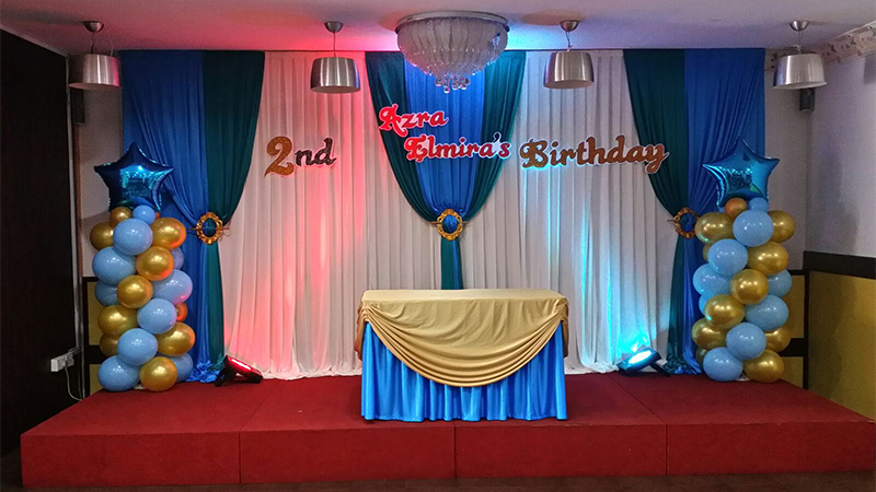 birthday party hall near me with price